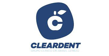 Logotipo de Cleardent, clínica dental en Jaén